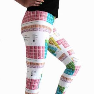 Chemistry Periodic Table Tights/Leggings 👩🏼‍🔬
